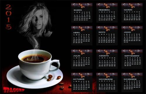 """Вы можете без регистрации и абсолютно бесплатно скачать  """"Календарь на 2015 год - Утренний кофе - 12 Марта 2014 """" и..."""